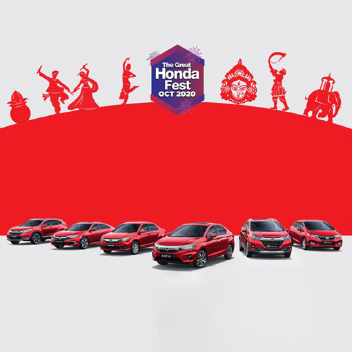 Discounts on Honda cars in october 2020