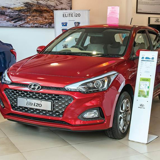 Discounts on Hyundai cars in october 2020