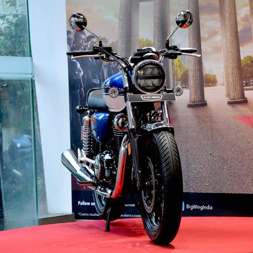 Honda Hness CB 350 a close look
