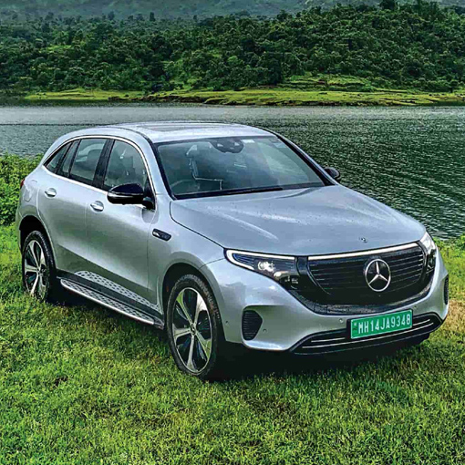 Merceded Benz EQC launched