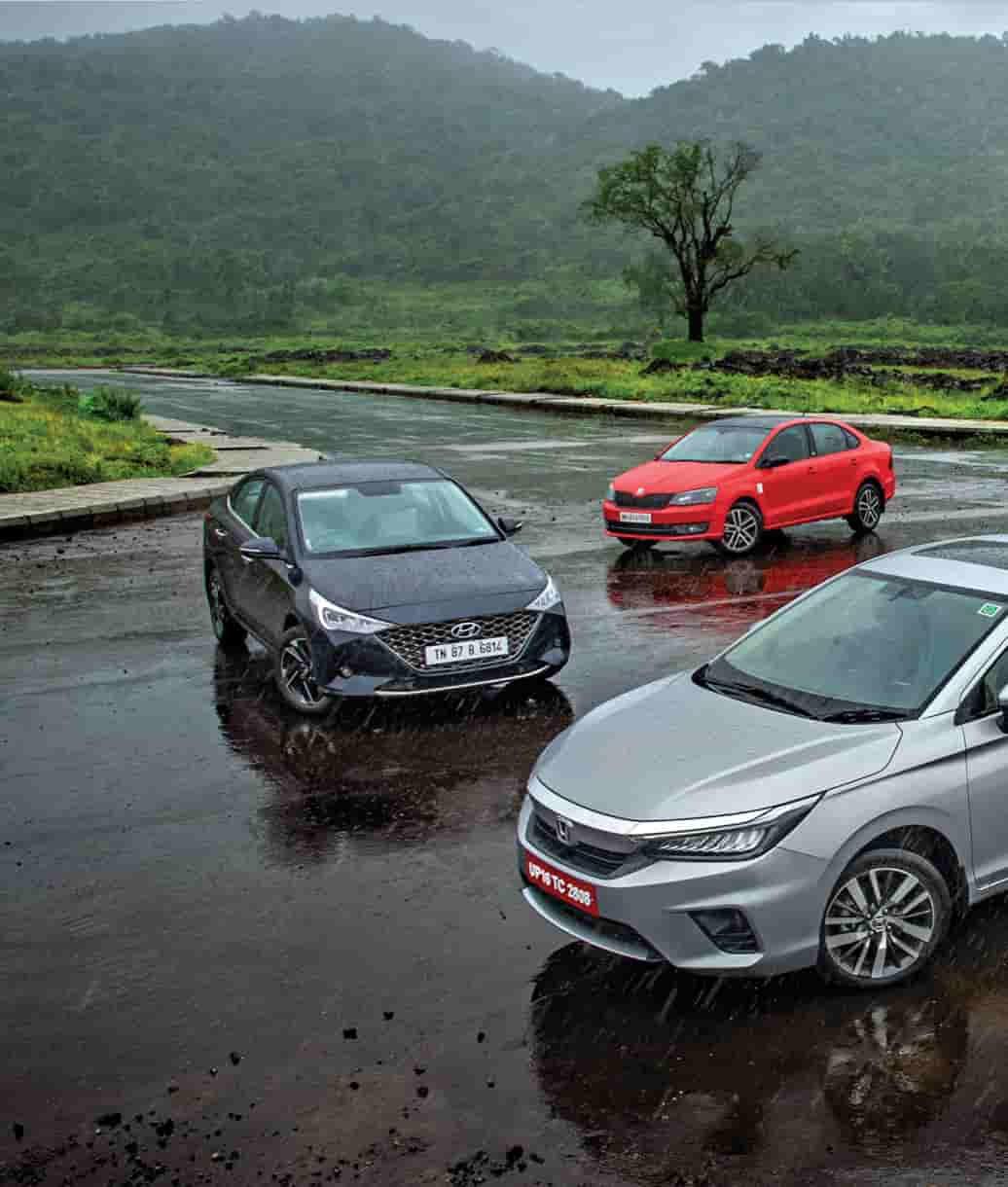 Top 5 Petrol Manual Mid Size Sedans In October 2020 Autocar India